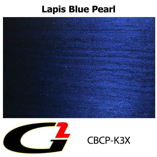 K3x Lapis Blue Pearl Custom Color Match Brake Caliper Paint Kit